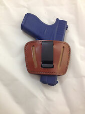 Leather Concealment Gun Holster - GLOCK 42  .380  (#036)