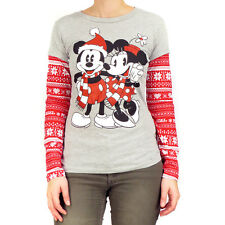 Mickey & Minnie Mouse Norweger Langarm T-Shirt