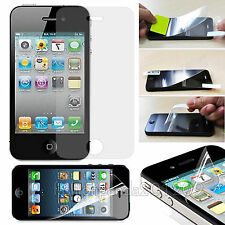10x Transparent Front Screen Protector Glossy Film for Apple iPhone 4 4s 5 5s