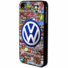 VOLKSWAGEN VW STICKERBOMB  - IPHONE - MOBILE PHONE CASE COVER