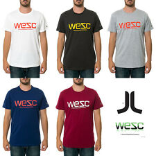 NWT WeSC WESC T-Shirt Skate Tee Many Colors NEW $28 £28 35€ Surf Snow Streetwear