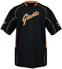 San Francisco Giants Majestic Vintage Mens Champ Jersey Black Big & Tall Sizes