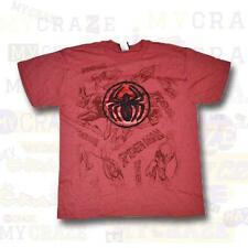 SPIDERMAN Marvel Boys Kids Youth Licensed T-Shirt Size L Large 14-16