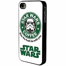 STAR WARS - COFFEE - FROTH BE WITH YOU  - IPHONE - MOBILE PHONE CASE COVER