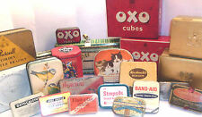VINTAGE OXO TINS   ORIGINAL AND OTHERS --- click on the site to chose and order