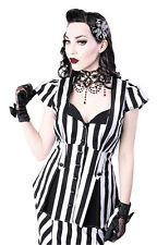 SHIRT | Lucy Stripes RESTYLE clothing alternative gothic punk pinup