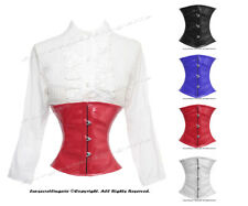 Authentic Full Steel Boned Underbust Waist Cincher Shaper Corset #HC979(PVC)