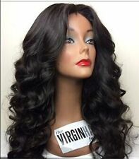 Malaysian Lace Front /Full lace wigs 100  human Remy Hair  4 colors curly wave
