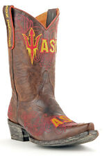 Womens Cowboy Boots Arizona State University Gameday Boots Sun Devils Brown