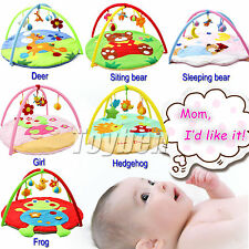 Baby Educational Toys 3D Activity Game Play Mat Infant Blanket Gym Kids Pads New