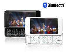 Ultra-thin Slide-Out Wireless Bluetooth 3.0 Keyboard Case Cover For iPhone 5 5S