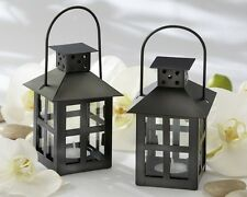 Black Metal Lanterns Outdoor Lighting Wedding Reception Kate Aspen