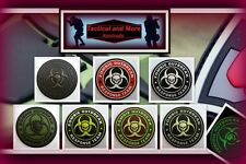 Ready to patch 3D Rubberpatch Zombie Outbreak Response 7versch Farb. m. Klett