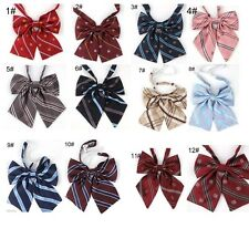 Japanese kawaii bowknot bow tie Cute special printing uniform  Neck Tie darcon