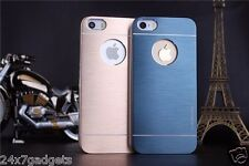 Fine Brushed Metal Motomo Back Cover Case For Apple IPhone 4/4S, 5/5S/5C, 6/6G