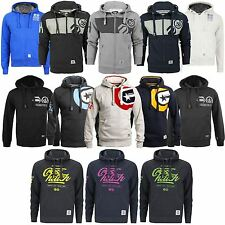 MENS CROSSHATCH BRANDED FLEECE LINED HOODED JACKET SWEATSHIRT HOODY SIZE S-XXL