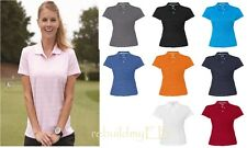 adidas - Golf Ladies' ClimaLite® Textured Short Sleeve Polo - A162 New S- 2XL