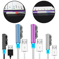 Metal Magnetic Charging Cable W/ LED Indicator For Sony Xperia Z1 Z2 Z3 Compact