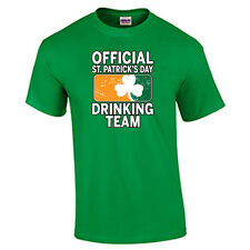 St. Patrick's Day T-Shirt Official Drinking Team St. Paddy's Day Tee