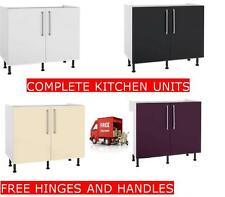 Complete Kitchen Units With Gloss Doors