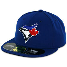 Toronto BLUE JAYS GAME Home Royal New Era 59FIFTY Fitted Caps MLB On Field Hats