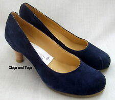 NEW CLARKS ORIGINALS AIRLIE REEF NAVY BLUE SUEDE SHOES