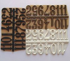 30mm Adhesive CLOCK NUMBERS Roman Numerals For Clock making