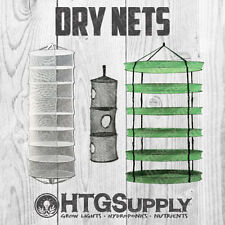 COLLAPSIBLE DRYING NETS Tiered Hydroponic Quick Plant Bud Herb Flower Dry Racks