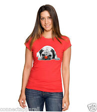 RED NOSE DAY COMIC RELIEF PUG LIFE CHARITY RED WHITE UNISEX TSHIRT FREE DELIVERY