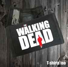 the walking dead tv gifts boy girl accessories zombie wallet fun T-shirt tee