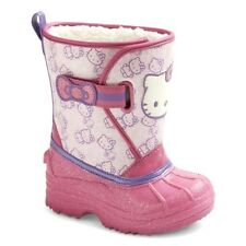 Hello Kitty Natalyn Pink Cold Weather Sno Boots by Sanrio Toddler Girls 5/6 7/8