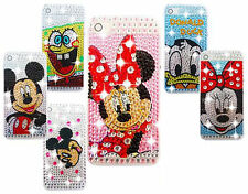NEW DIAMANTE BLING DIAMOND CHARACTER CASE COVER FOR VARIOUS MONILE PHONES IPHONE