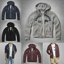 BNWT Abercrombie & Fitch Hollister Mens Zip Hoodie Sweater Jacket Top S M L XL