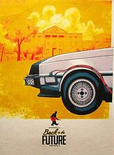 BACK TO FUTURE   ART PRINT  POSTER FILM MOVIE WALL DECOR A3 SIZE