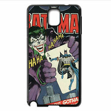 Custom Joker And Batman Poker Card Cool For Samsung Galaxy Note 2/3/4 Case