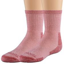 Timberland Unisex Kids' Cooling Crew Red Sock 2Pk Style #Tk228