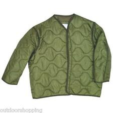 Olive Drab Green M-65 FIELD QUILTED OUTERSHELL JACKET LINER – Additional Warmth
