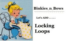 Adult Baby Sissy Little Extra's ~ Locking Features Added to Binkies_n_Bows Dress