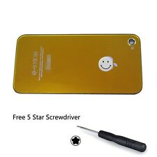 Battery Back Cover Replacement Rear Glass Door Color Conversion For iPhone 4 4S