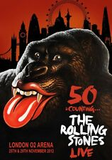 THE ROLLING STONES 50 & Counting Live London O2 Arena PHOTO Print POSTER 001