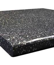 Black Sparkle Gloss 40mm Laminate Kitchen Worktop - Fast & Free Delivery