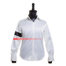 Michael Jackson Costume Black Or White Armband Shirt White