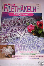 Diana Lena 2 Magazine Your Choice Crochet Knit Fillet embroidery German Patterns