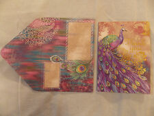 Punch Studio Assorted Set  Peacock Themed Thank You Greeting Note Cards in Box