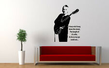Paul Weller Wall Art Vinyl Image with music lyrics the jam stanley road