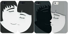 Ozaki O!coat Lover+ iPhone 5 Cover for Couples Pair of romantic kissing cases