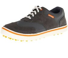 Brand New Crocs Golf Preston Shoe Charcoal / Pumpkin 8 9 10 NIB with tags