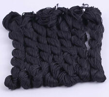 10pcs Wholesale Nylon Cord Shamballa Beading Macrame Rattail Braided Thread