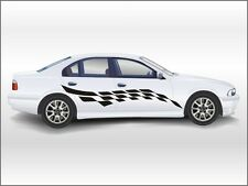 """N3108 2 X SIDES 38"""" X79"""" Tuning decal,Car TATTOO LINES for both sides of the car"""