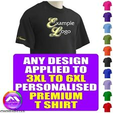 T Shirt 3XL - 6XL With Any Music Design Personalised by MusicaliTee